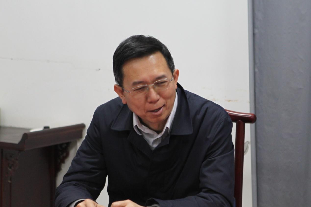 河南省建设教育协会崔恩杰会长一行 前往郑州建设教育培训中心调研座谈